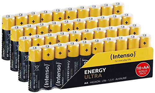 Intenso Energy Ultra AA Mignon LR6 Alkaline Batterien 40er Pack