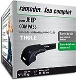 Pack Rameder barres de toit WingBar Edge pour JEEP COMPASS (119794-05605-1-FR)