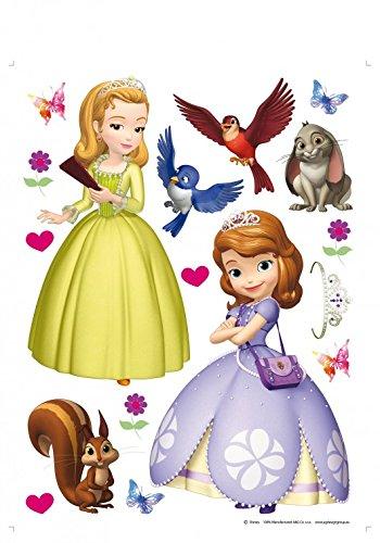 e Erste - Charaktere, Prinzessin Amber, Kalle, Kiki, Mia Und Robin Wand-Tattoo Aufkleber Poster-Sticker 85 x 65 cm ()