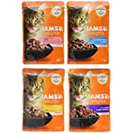 Iams Delights Land and Sea Collection in Sauce, 48 x 85 g