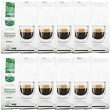 Puro Aroma Espresso Gimoka Cremoso, Gusto Italiano, café, cápsulas Nescafé Dolce Gusto compatible, verde, 160 cápsulas