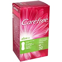 Carefree - Protege Slip Normal Aloe, 32 unidades