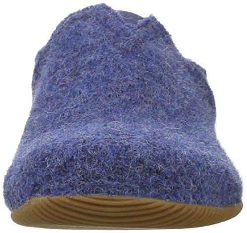 Giesswein Pfronten, Pantofole Unisex-Adulto Blu (Jeans)