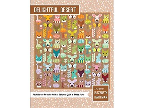 Elizabeth Hartman ehp039Delightful Wüste Muster (Quilt Für Elizabeth)