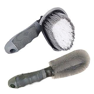 WINOMO 1 Satz Auto-Bürsten Auto-Rad-Reifen-Bürste Handwäsche-Bürsten-Detail-Bürste für Auto-Reinigung