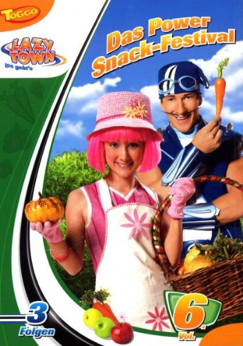 LazyTown - Vol. 06: Das Power Snack-Festival Rose Snack