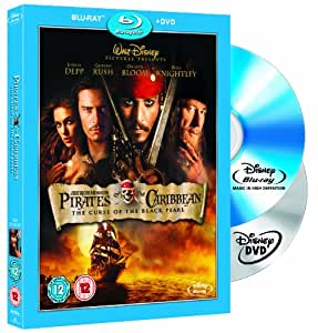 Pirates Of The Caribbean - The Curse Of The Black Pearl Combi Pack (Blu-ray + DVD)