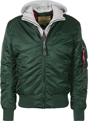 Alpha Industries Herren Jacke dark petrol
