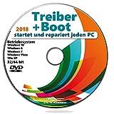 Notfall DVD Boot+Treiber Software Repariert jeden Startvorgang und jeden Computer