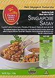Singapur Satay kit listo para cocinar la salsa para Singapur Kebab 275 g / 9.7 oz