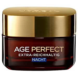 L'Oréal Paris Dermo Expertise Age-Perfect Extra-Reichhaltig Nacht, 1er Pack (1 x 50 ml)