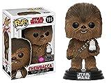 Star Wars Episode VIII: Die letzten Jedi - Chewbacca mit Porg Flocked Pop! Vinylfigur