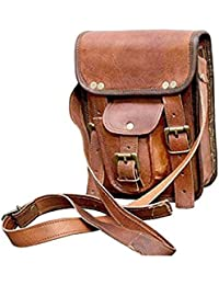 "9"" Leather Cross Body Bags Leather Sling Bag For Women Purse For Znt Bags - B0795SNS8B"