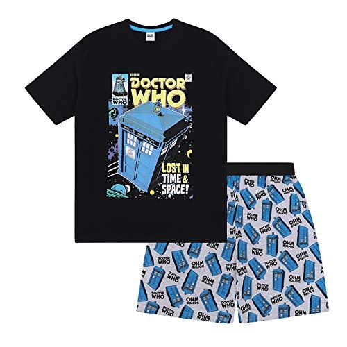 Doctor Who Tardis Official Short Summer Pyjamas Set