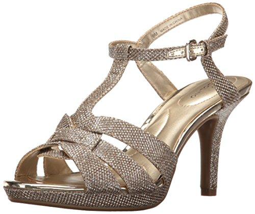 Bandolino Damen Sarahi, Gold Glamour, 37.5 EU Bandolino High Heels