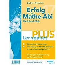 Erfolg im Mathe-Abi 2017 Lernpaket PLUS Rheinland-Pfalz: mit der Original Mathe-Mind-Map
