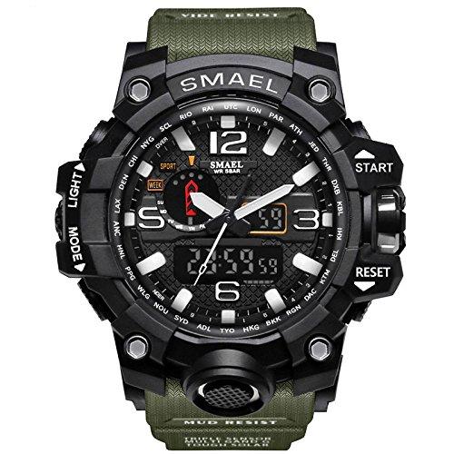 Lightinthebox Hombre Reloj Deportivo Militar Reloj Smart Moda Reloj de