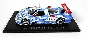 Opo 10 Kompatibel Mit Nissan R390 Gt1 32 Le Mans 1998 Suzuki Hoshino Kageyama Spark 1 43 Für Hachette Japon 05 Spielzeug