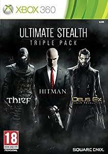 Ultimate Stealth Triple Pack : Thief + Hitman + Deus Ex : Human Revolution [import anglais]