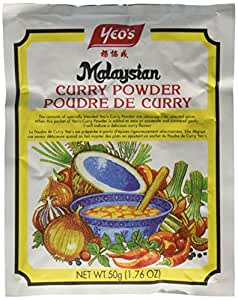 Yeo's Malaysian Curry Powder - 50G