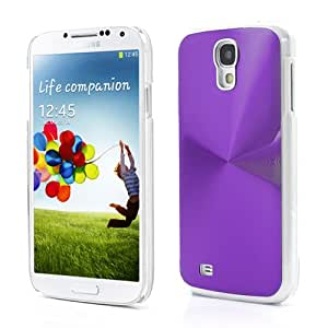 CD Veins Metal Aluminium Hard Case Cover Shell For Samsung Galaxy S4 i9500 i9505 - Purple