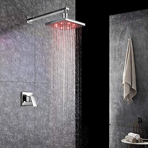 Küchenarmatur Küchenarmaturen Waschtischarmaturen Bad- und Kücheninstallation Kalt- und Warmwasserhahn Warm- und Kaltkupfer-Wandeinbauleuchte mit LED-Anzeige