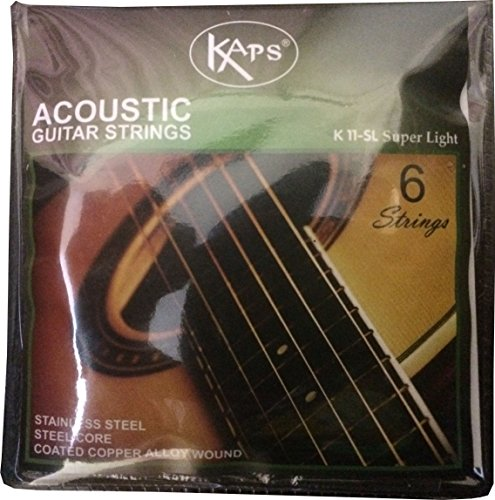 BamBah-India-K-11-SL-Set-of-6-Stainless-Steel-Acoustic-Guitar-Strings