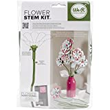 American Crafts We R Flower Stem Kit, (Set of 10), Floral Tape Green