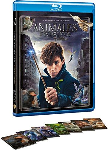Animales Fantásticos Y Donde Encontrarlos + Postales de Criaturas Mágicas [Blu-ray]