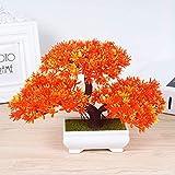 VGJJMNG Künstliche Blume 1set Mini Trigeminal Einladende Kiefer Kleine Topf Künstliche Blumenpflanzen Kleine Bonsai Für Zu Hause Hochzeit Weihnachtsdekoration