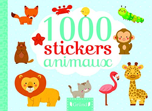 1 000 stickers animaux