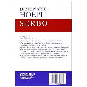 Dizionario di serbo. Serbo-italiano, italiano-serb