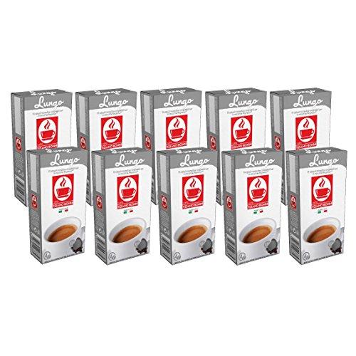 100 Nespresso kompatible Kapseln von Bonini - Lungo 10er Pack (10 x 10 Kapseln)
