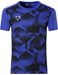 Jeansian Hombres Verano Deportes Wicking Transpirable Quick Dry Short Sleeve T-Shirts Tops Running Training Tee LSL3225