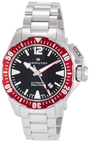Hamilton Reloj de hombre automático 42mm correa y caja de acero H77725135