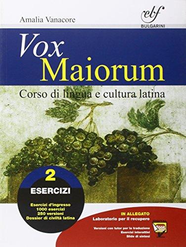 Vox maiorum. Esercizi. Con e-book. Con espansione online. Per le Scuole superiori: 2