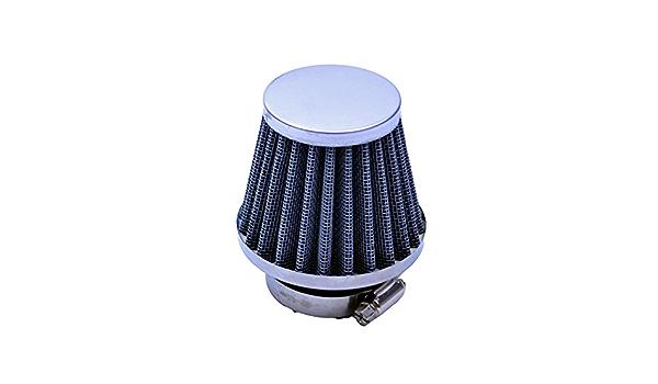 IENPAJNEPQN Moto Filtro dellAria della Testa del Fungo Filtri 60 Millimetri Moto Air Intake pulitore del Filtro Nero for Tutti i Motociclo Universale