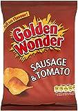 Golden Wonder Sausage & Tomato Crisps 32.5g x 32