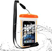 Dayalu Waterproof Phone Pouch Transparent, Mobile Cover Case, Underwater Protective Dry Bag Waterproof Bag wit