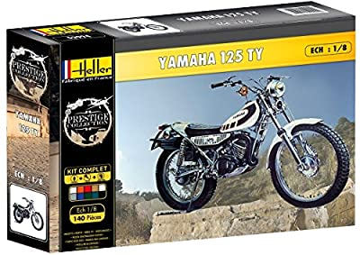 Heller 52994 Modellbausatz Yamaha TY 125, Spiel von Heller