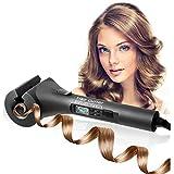 J.W. Keramisches Haar-Lockenstab, LCD-Elektrisches Keramisches Berufshaar-Styling, mit Zeit-Temperatur-Curling-Richtung Für Alle Haartypen