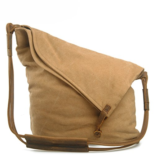 koson-man-unisex-personality-shape-simple-partysu-casual-canvas-sling-bag-shoulder-bagkhaki
