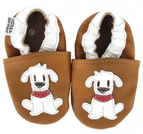 Hobea-alemanha Krabbelschuhe Em Diferentes Cores E Desenhos Com Animais, Tamanho De Sapato: 20/21 (12-18 Meses); Modelo De Sapatos: Fiffi Cão-guaxinim