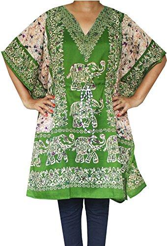 maple-clothing-para-mujer-impreso-vestido-tunica-kaftan-beach