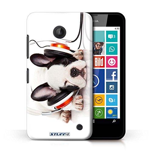 Kobalt® Imprimé Etui / Coque pour Nokia Lumia 635 / Chien somnolent conception / Série Animaux comiques Chien somnolent