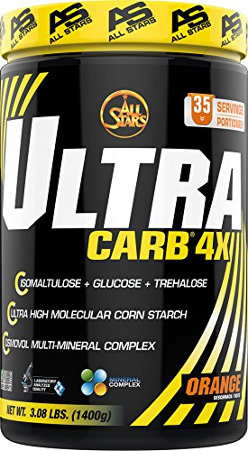 All Stars Ultra Carb 4X, Orange, 1er Pack (1 x 1400 g) (Multi Mineral Complex)