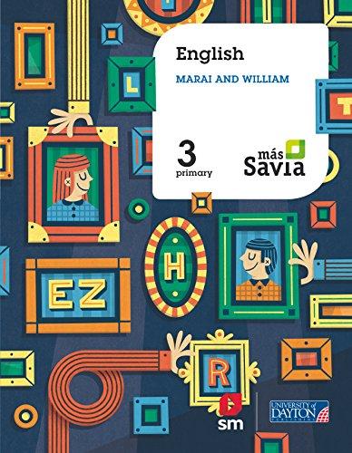 English. Marai and William. 3 Primary. Más Savia