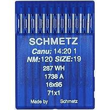 La Canilla ® - 10 Agujas para Máquina de Coser Industrial Schmetz DBx1 1738(A