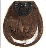 Hair Bang Clip On B3, Extension per capelli, 22 cm, colore #M4/30