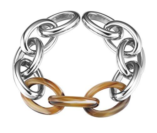 Esprit Jewels Damen-Armband Edelstahl Tortoise Big Link app.21+2cm ESBR11606B210